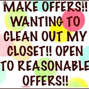 Closet clean out!!!!